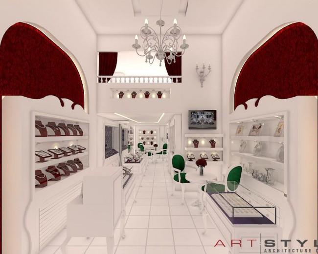Nisa Gümüş, Gümüş Mağazası Tasarımları (1)