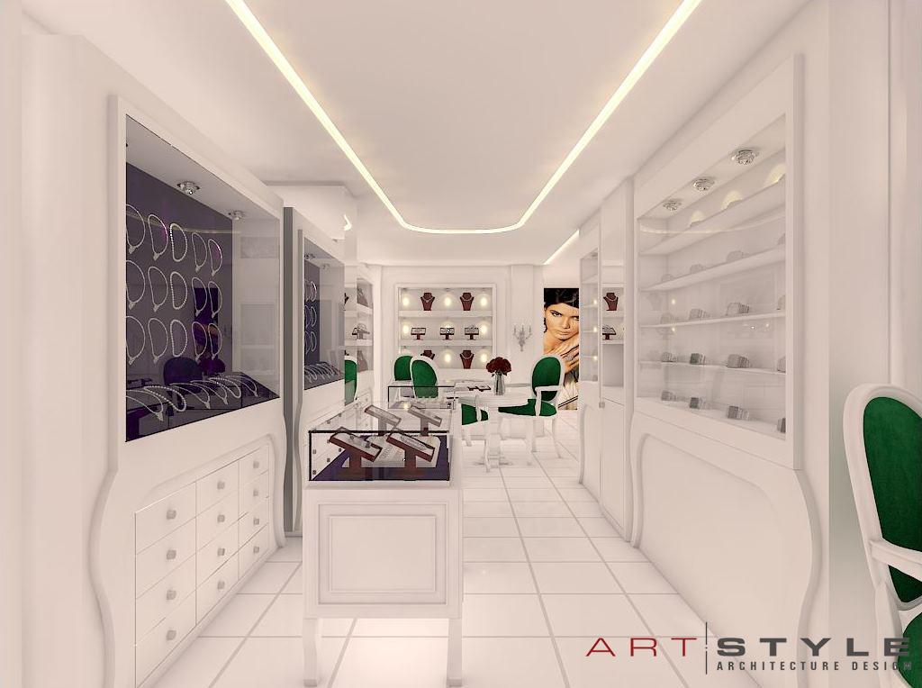 Nisa Gümüş, Gümüş Mağazası Tasarımları (2)
