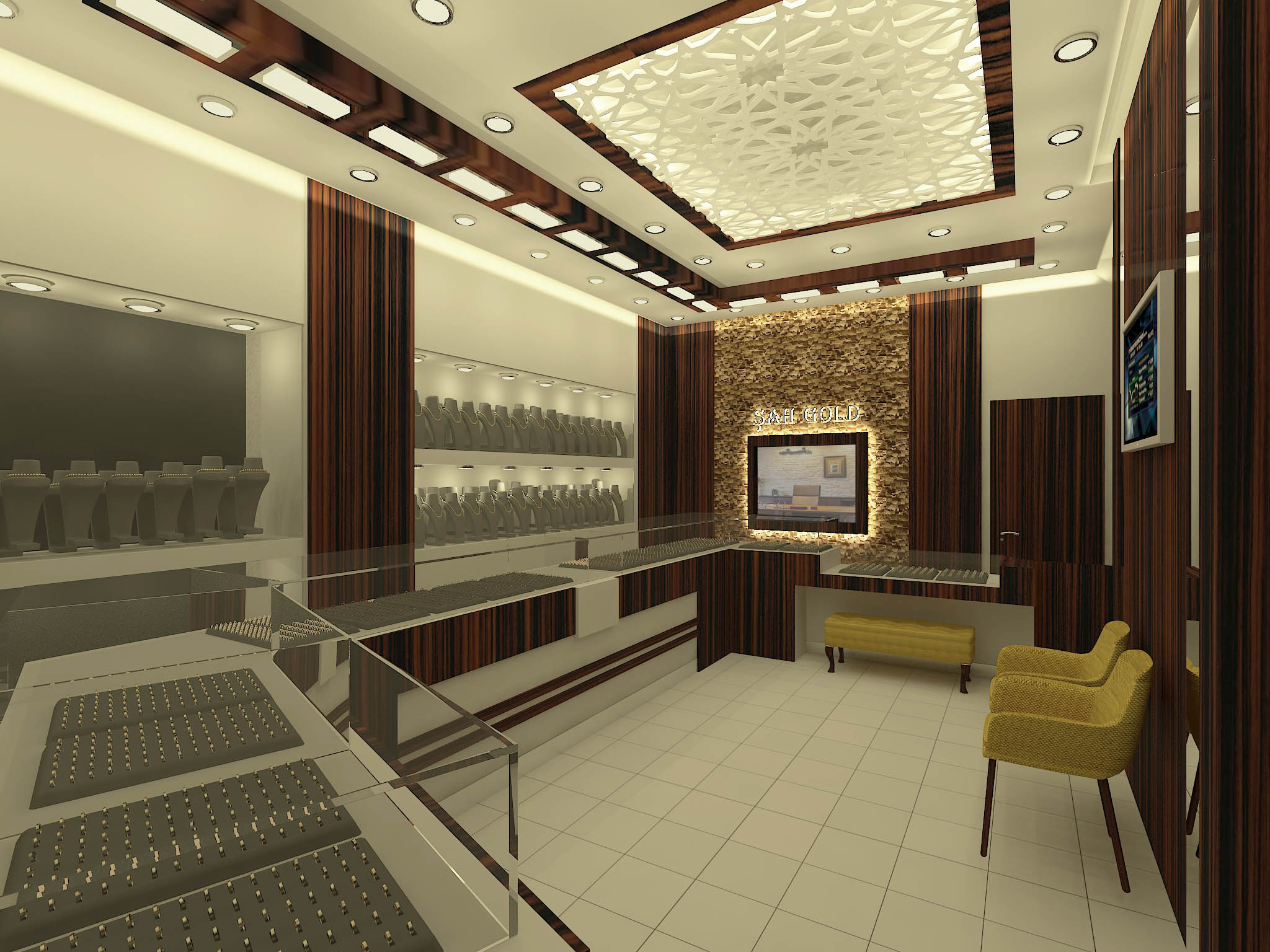 Şahgold Kuyumculuk,  Kuyumcu mağaza tasarımları (3)