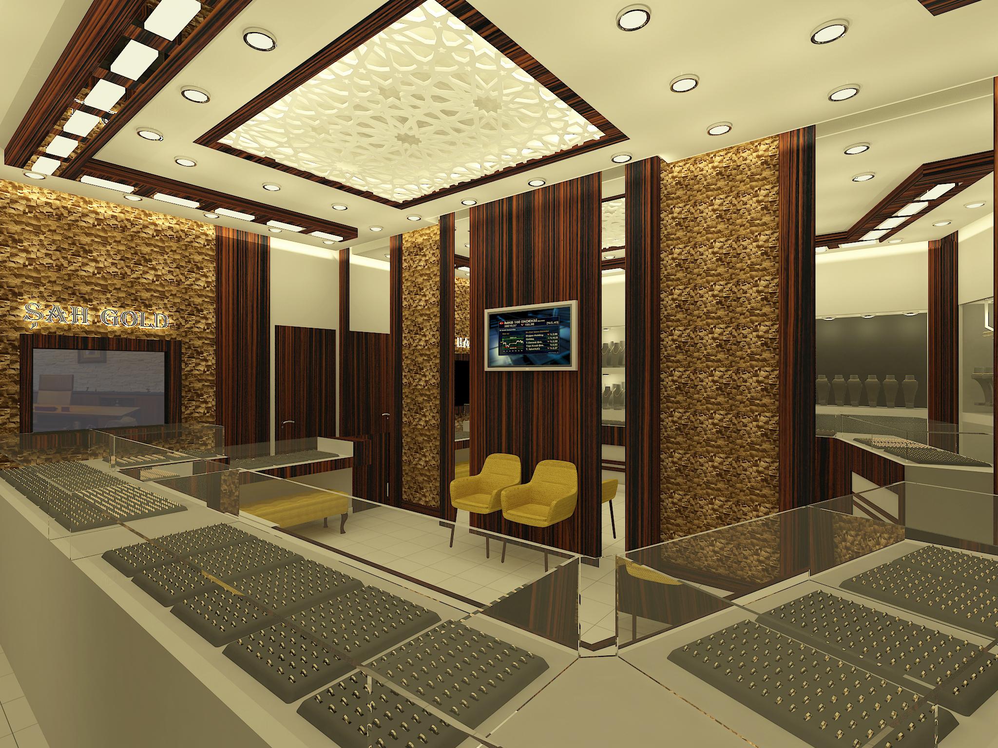 Şahgold Kuyumculuk,  Kuyumcu mağaza tasarımları (4)