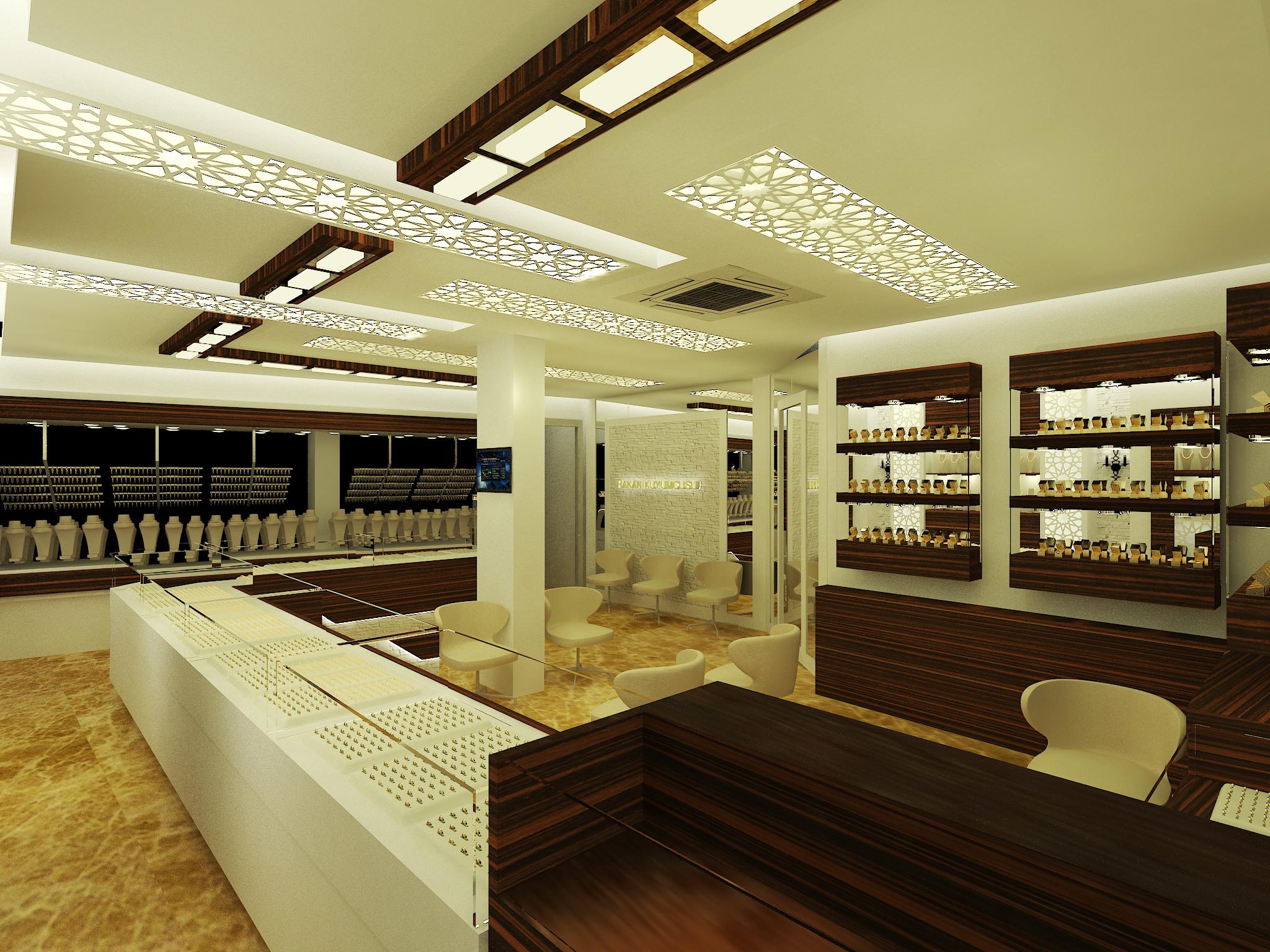 Hakan kuyumculuk, kuyumcu mağaza tasarımları (2)