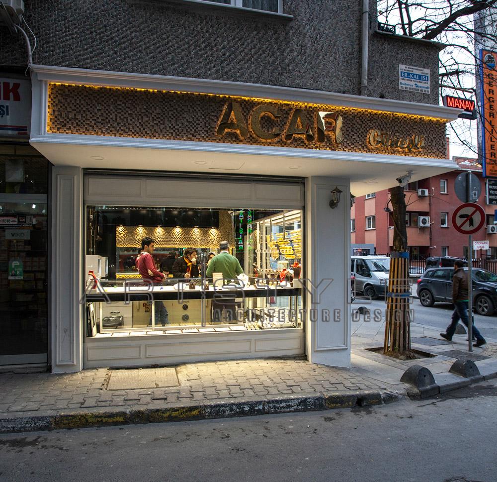 Acar Kuyumculuk , Artstyle Mimarlık Kuyumcu dekorasyon (12)