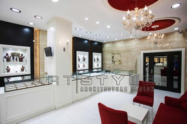 Ercan Kuyumculuk, Kuyumcu Dekorasyon, Artstyle Mimarlık (2)